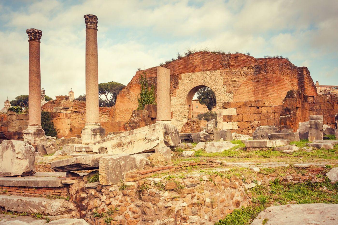 意大利罗马论坛,很敬佩_图1-22