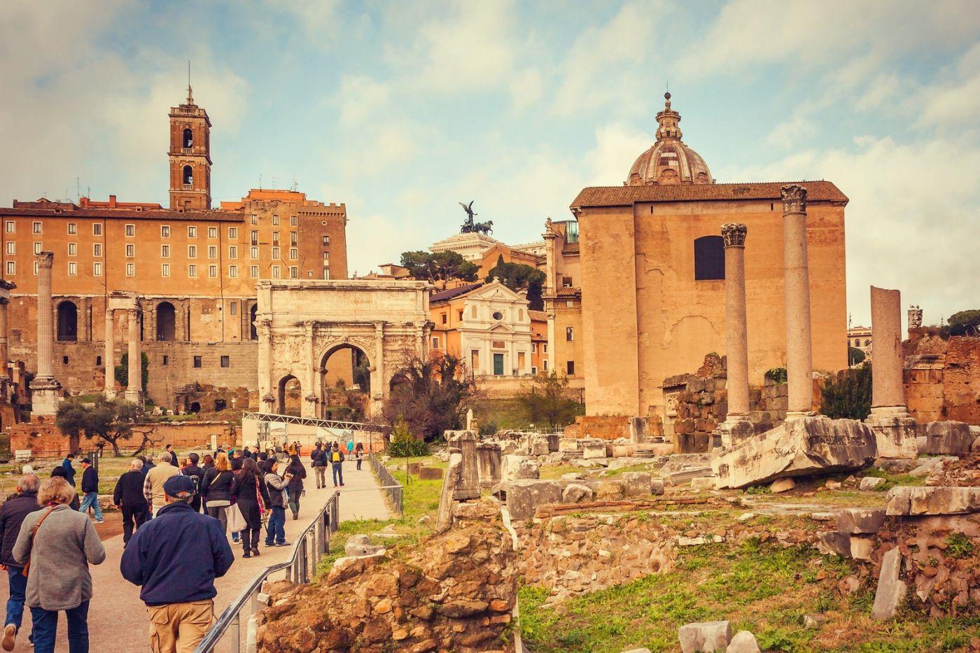 意大利罗马论坛,很敬佩_图1-32