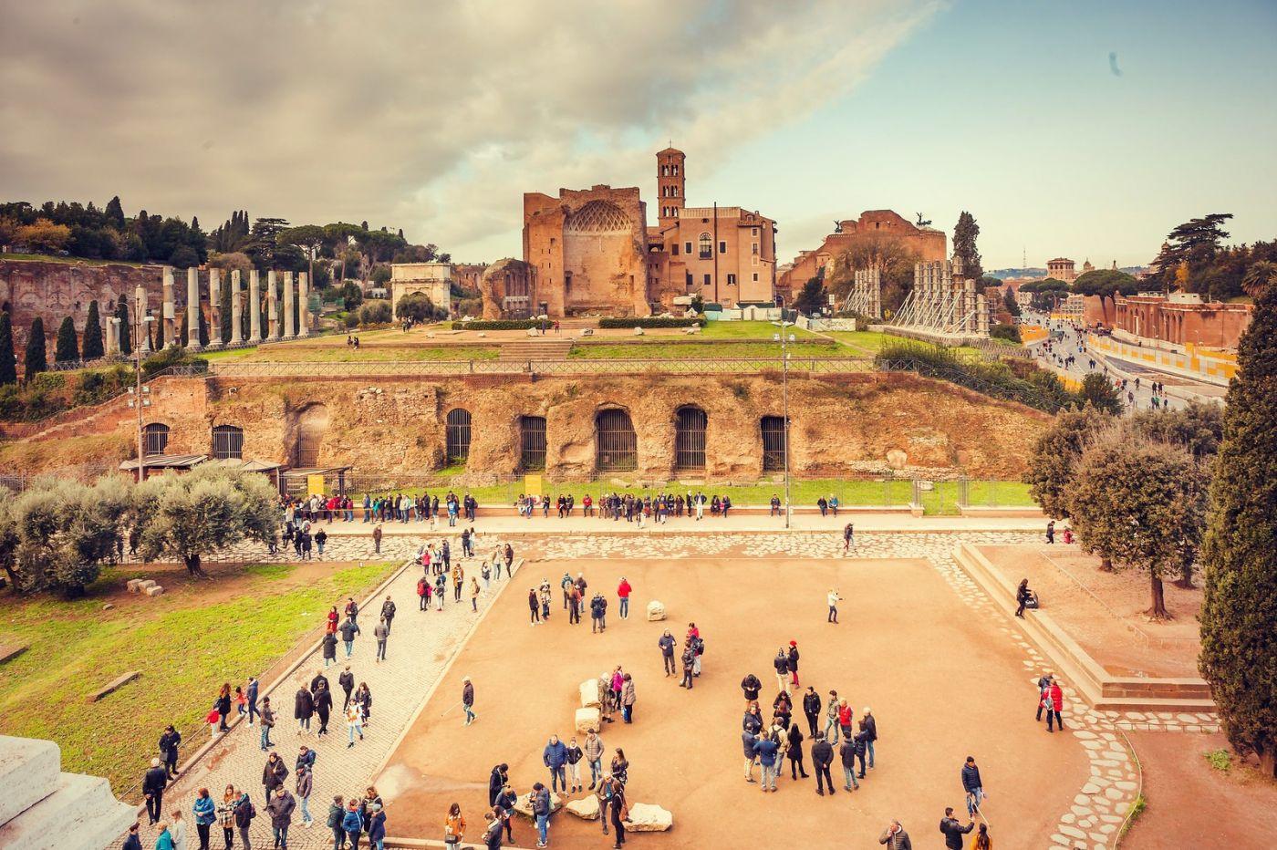 意大利罗马论坛,很敬佩_图1-34