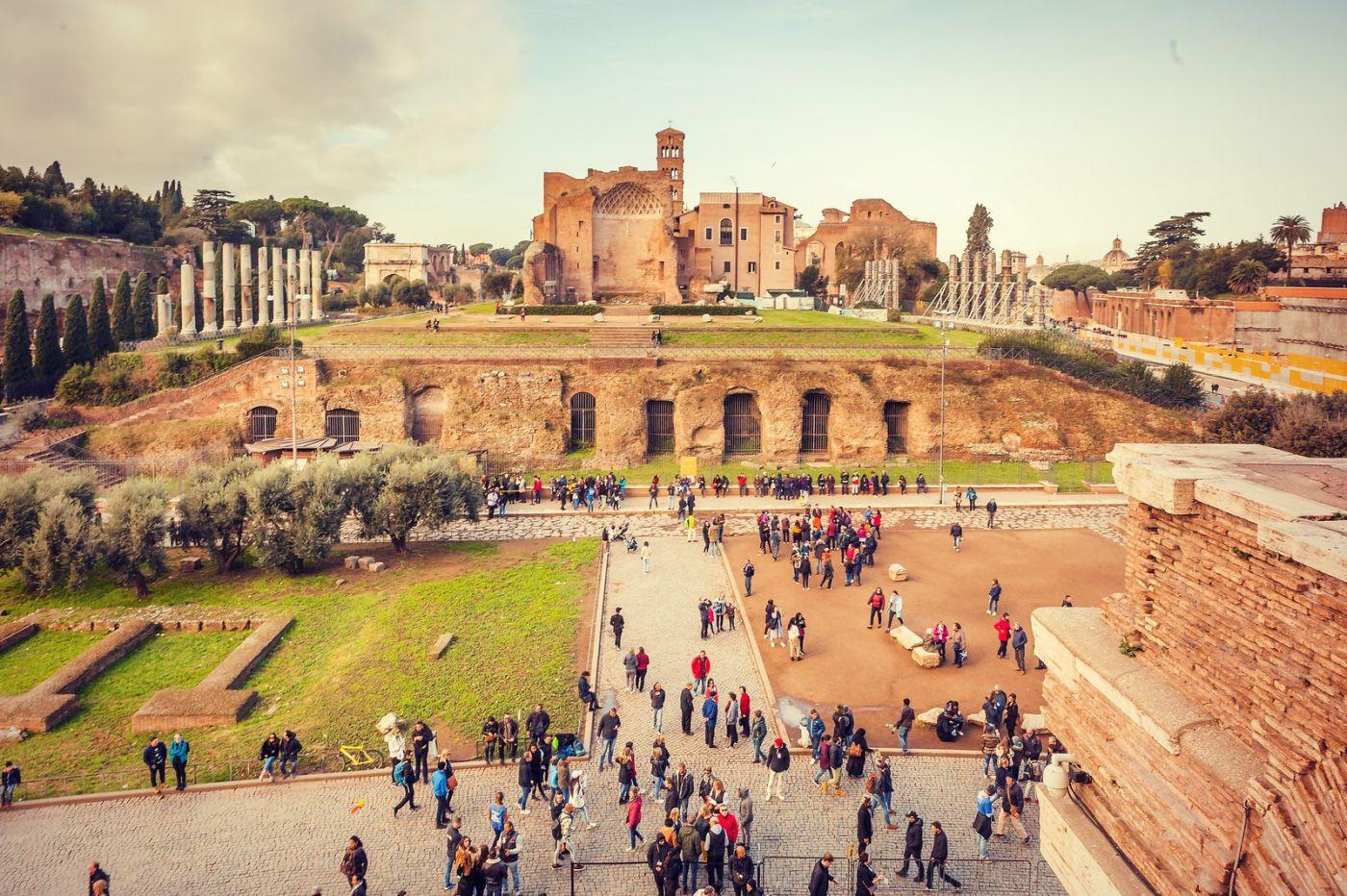 意大利罗马论坛,很敬佩_图1-35