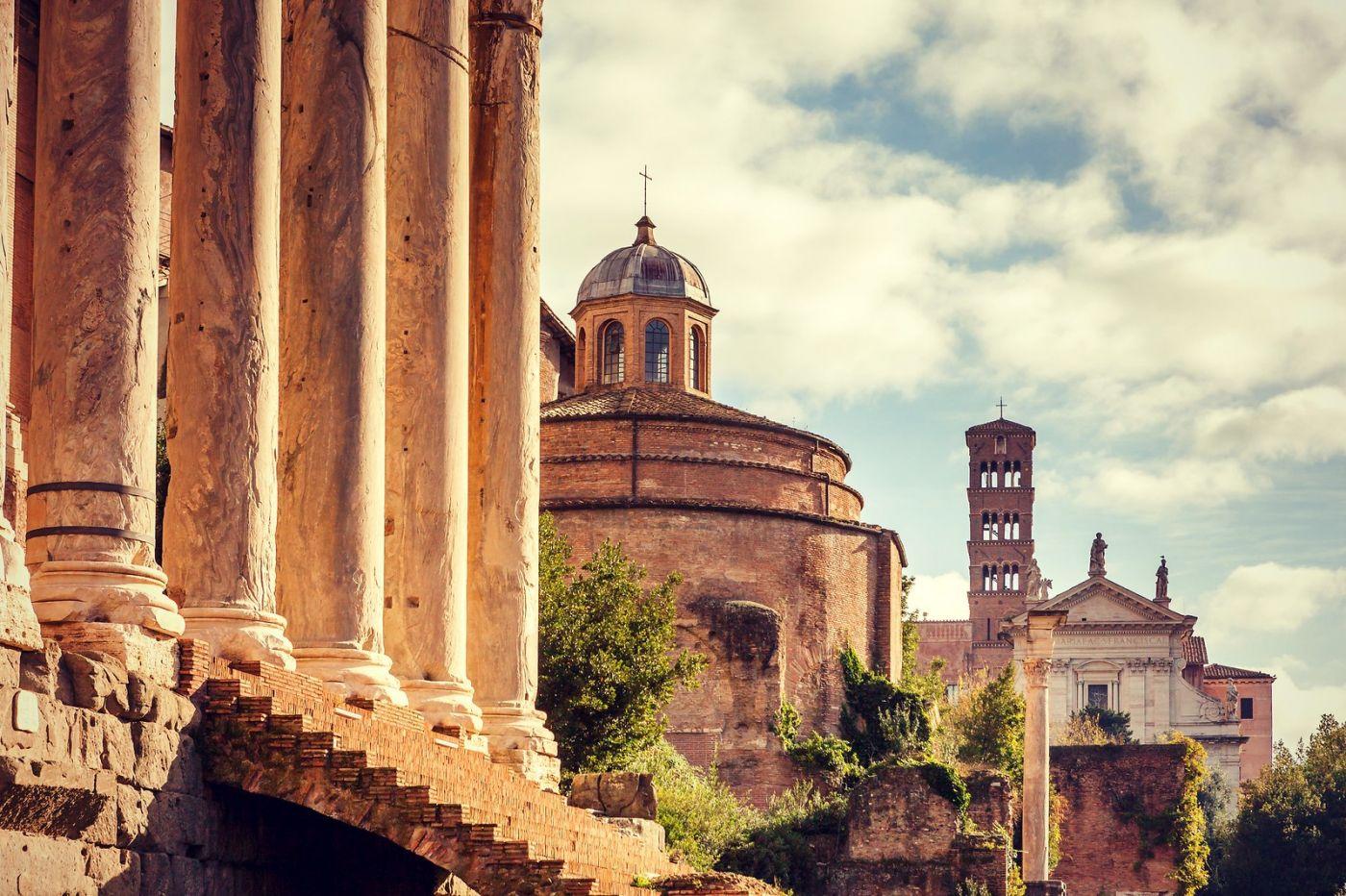 意大利罗马论坛,很敬佩_图1-40
