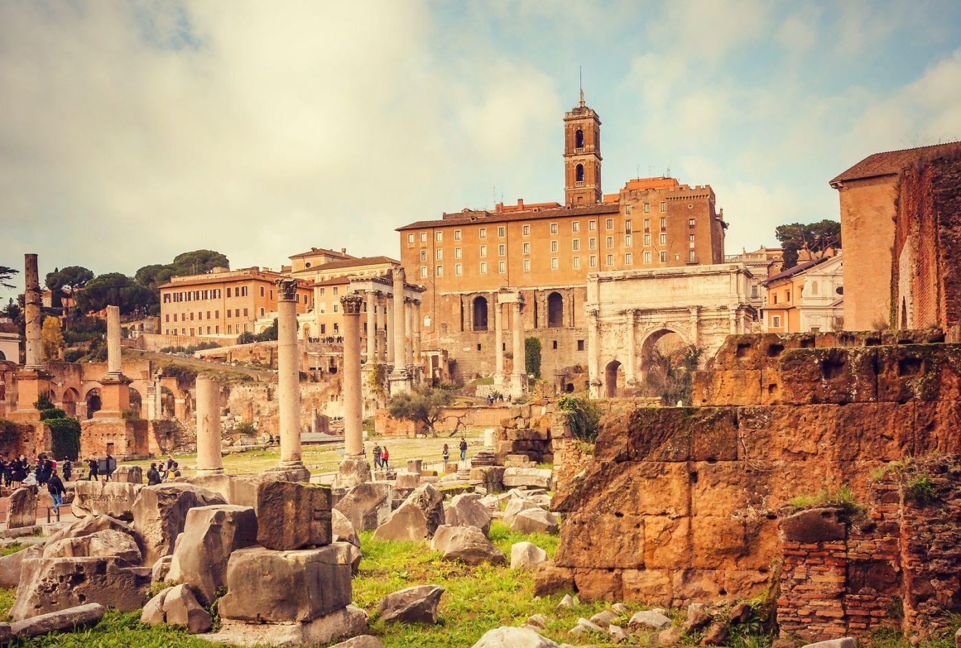 意大利罗马论坛,很敬佩_图1-37
