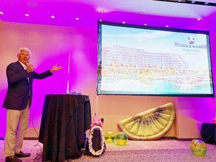 高娓娓:巴哈马ThePointe高端海景公寓推介会闪耀亮相美国时代广场 ... ... ... ... .. ..._图1-3