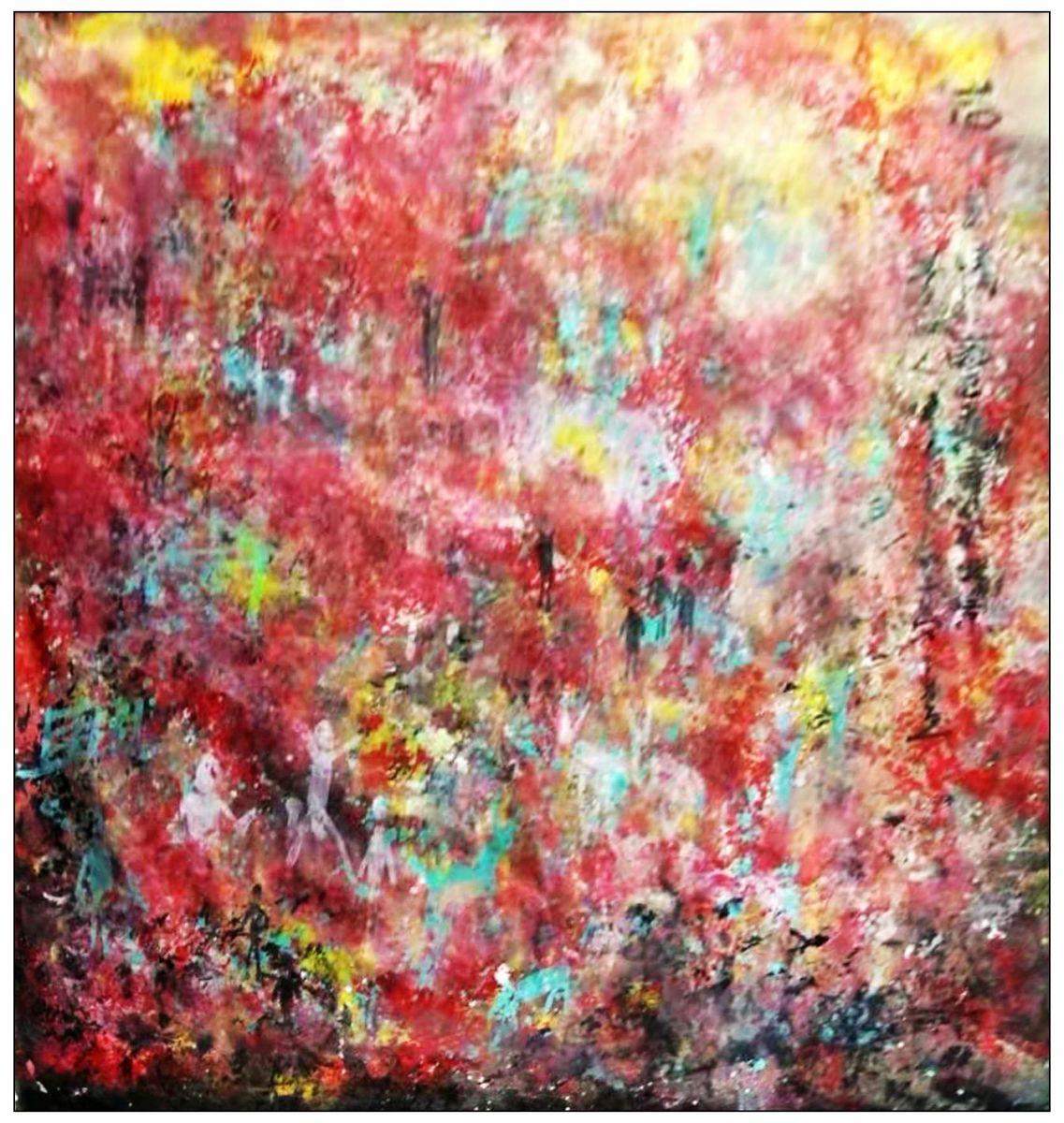 牛志高的抽象画--2019_图1-1