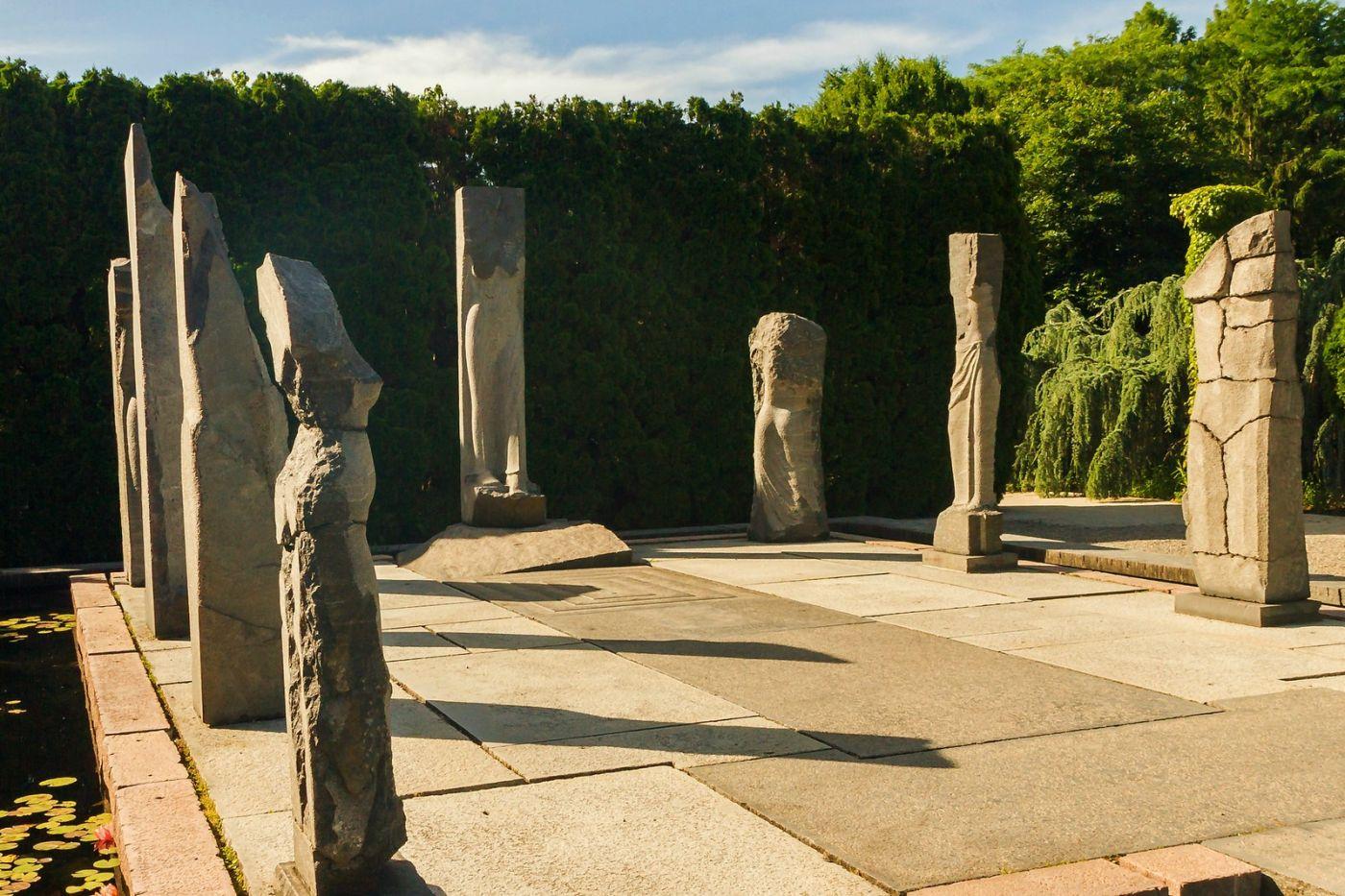 新澤西州雕塑公園(Grounds for scuplture),題材很廣_圖1-38