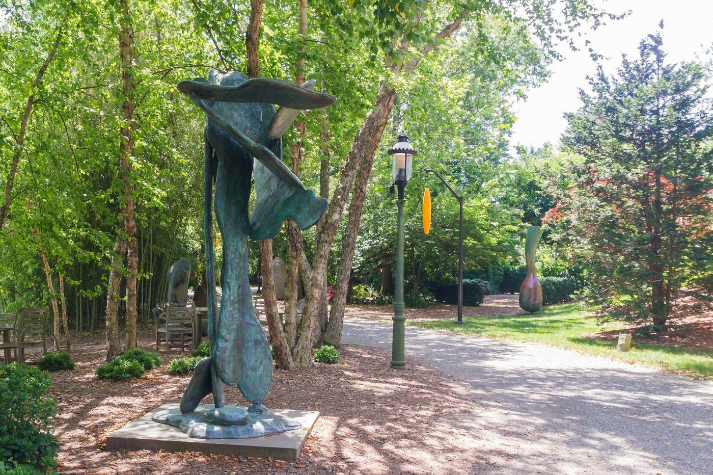 新泽西州雕塑公园(Grounds for scuplture),题材很广_图1-40
