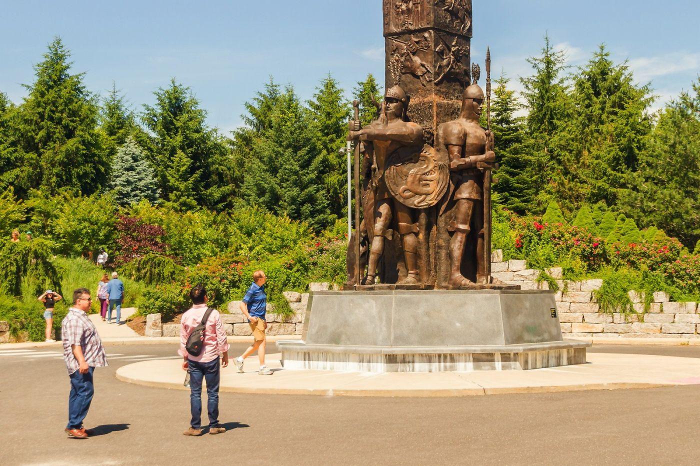 新澤西州雕塑公園(Grounds for scuplture),題材很廣_圖1-34