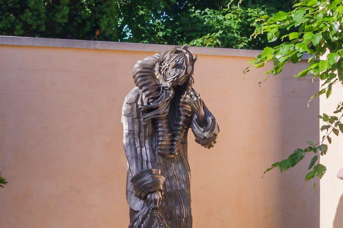 新澤西州雕塑公園(Grounds for scuplture),題材很廣_圖1-33