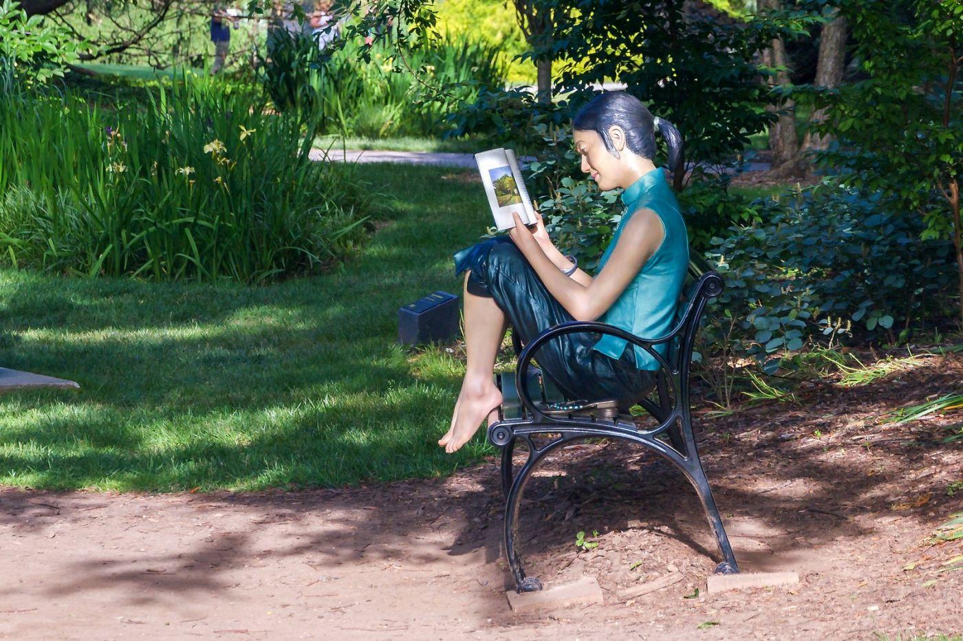 新澤西州雕塑公園(Grounds for scuplture),題材很廣_圖1-32