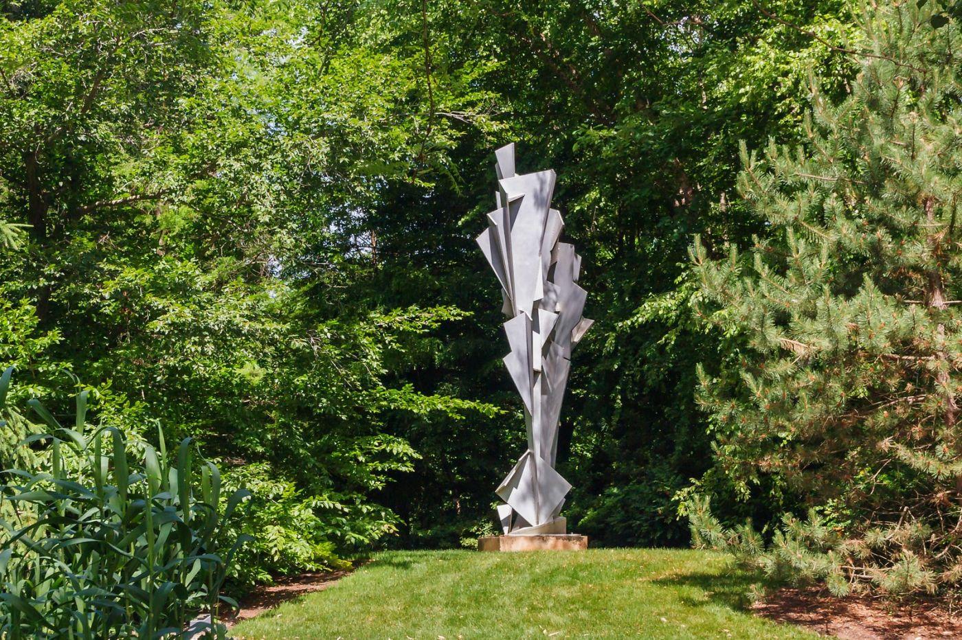 新澤西州雕塑公園(Grounds for scuplture),題材很廣_圖1-21