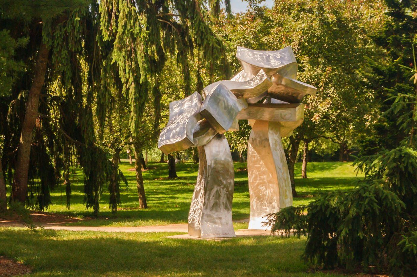 新澤西州雕塑公園(Grounds for scuplture),題材很廣_圖1-20