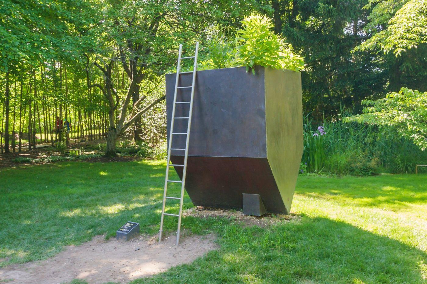 新澤西州雕塑公園(Grounds for scuplture),題材很廣_圖1-19