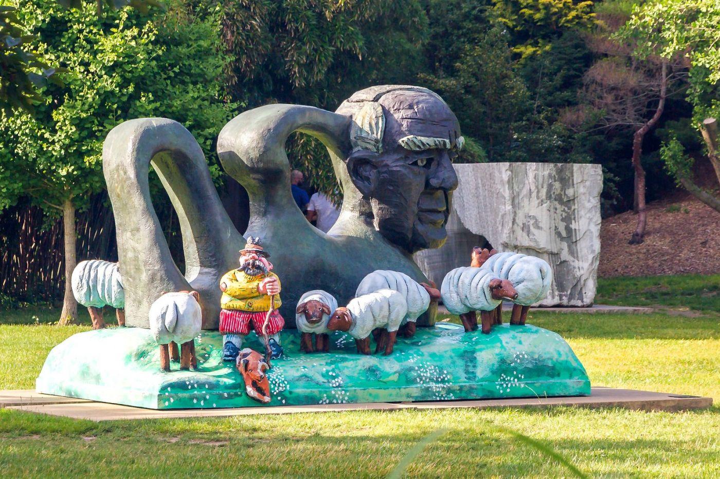 新澤西州雕塑公園(Grounds for scuplture),題材很廣_圖1-13