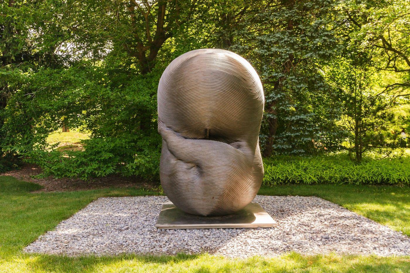 新澤西州雕塑公園(Grounds for scuplture),題材很廣_圖1-14