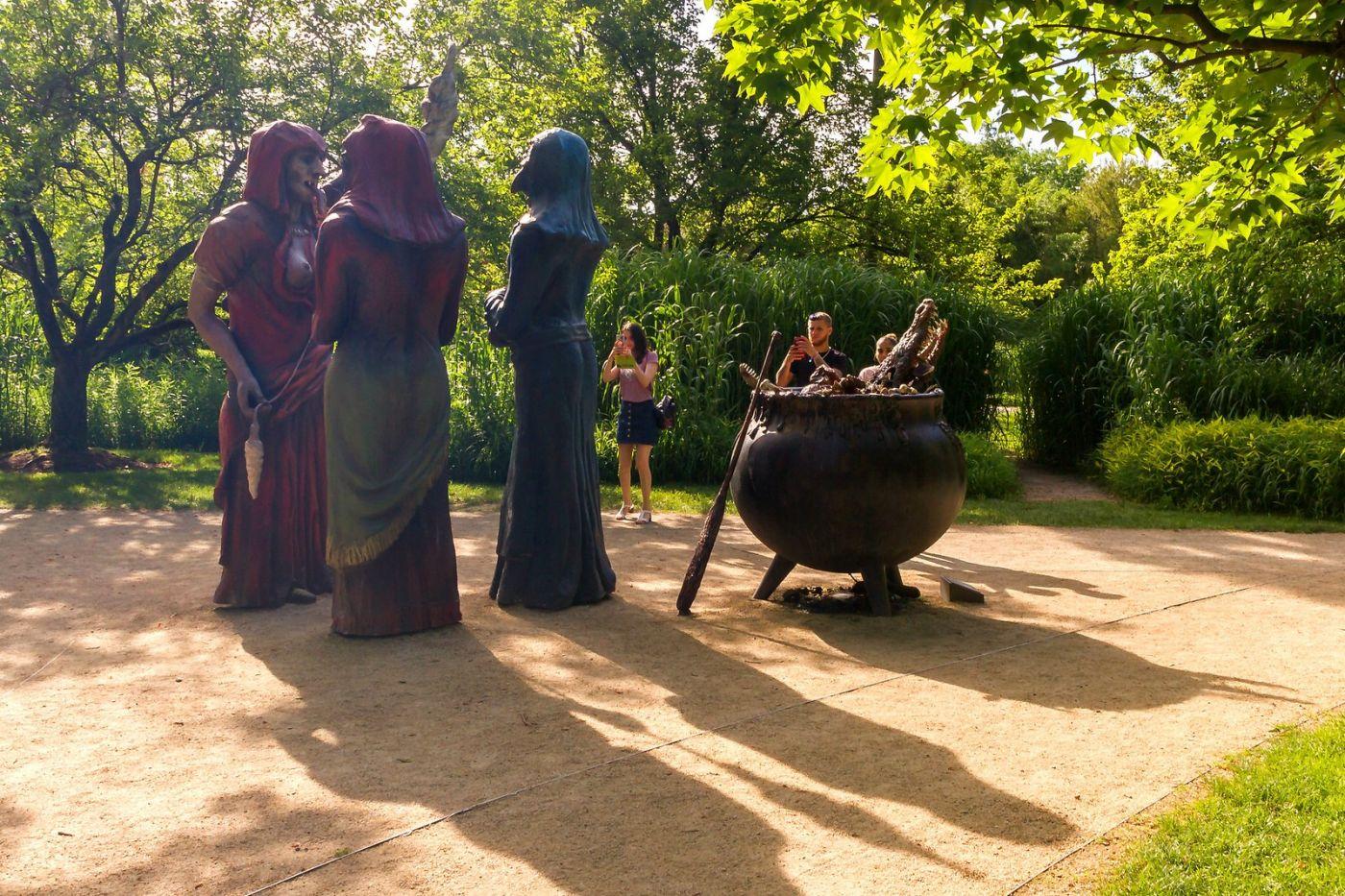 新澤西州雕塑公園(Grounds for scuplture),題材很廣_圖1-16