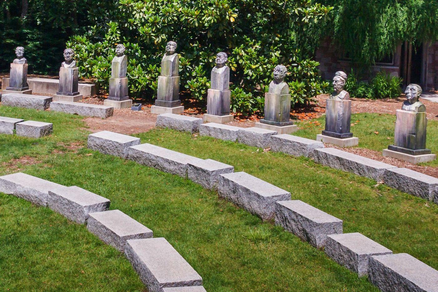 新澤西州雕塑公園(Grounds for scuplture),題材很廣_圖1-12