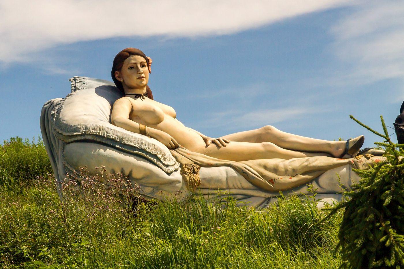 新澤西州雕塑公園(Grounds for scuplture),題材很廣_圖1-11