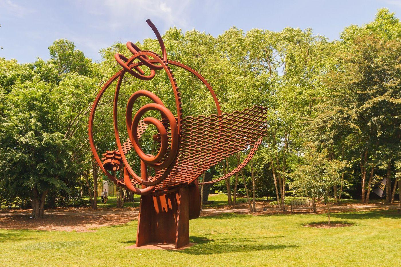 新澤西州雕塑公園(Grounds for scuplture),題材很廣_圖1-4