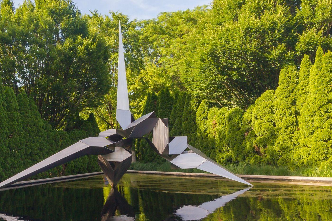 新澤西州雕塑公園(Grounds for scuplture),題材很廣_圖1-1