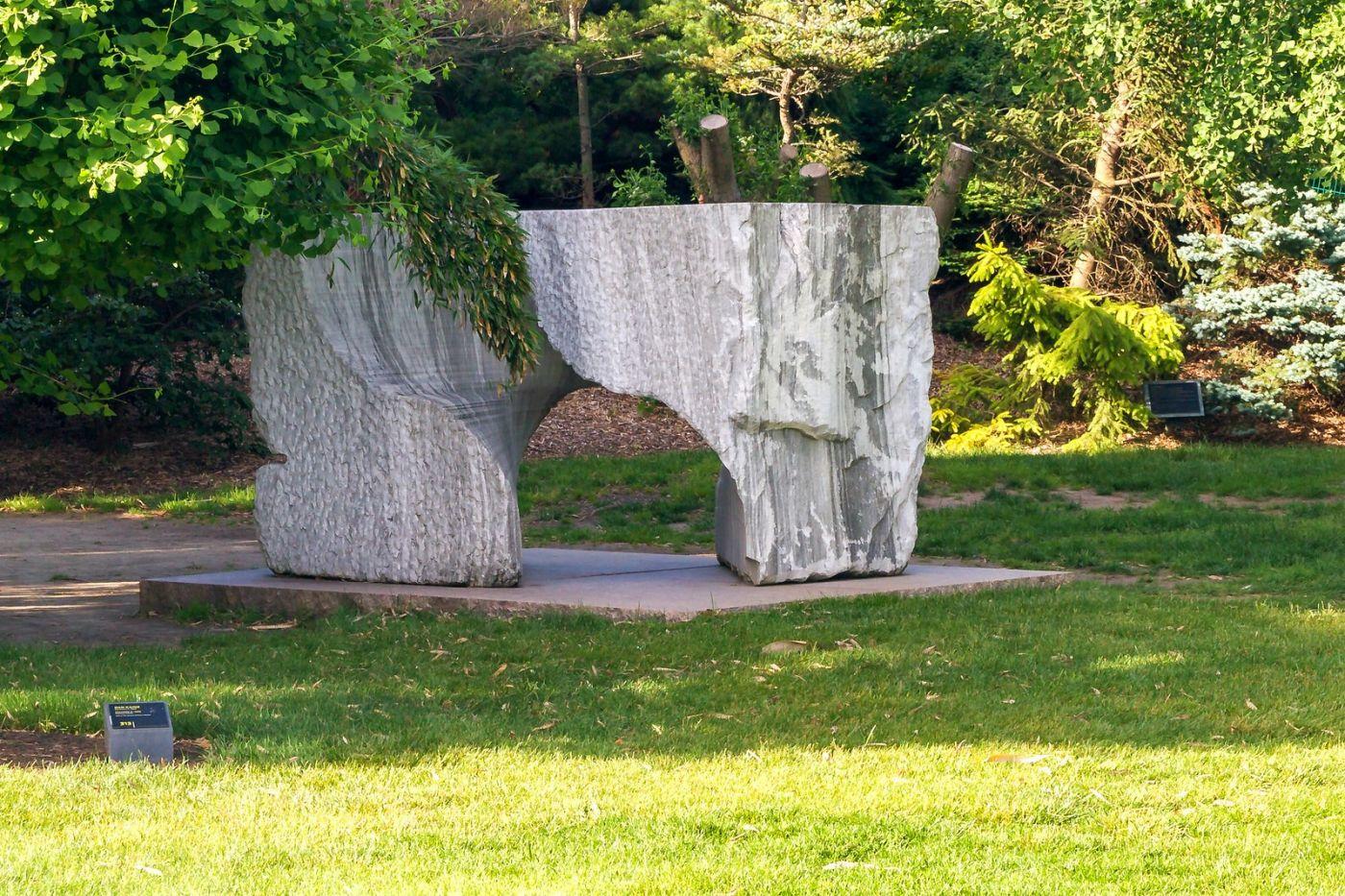 新泽西州雕塑公园(Grounds for scuplture),题材很广_图1-5