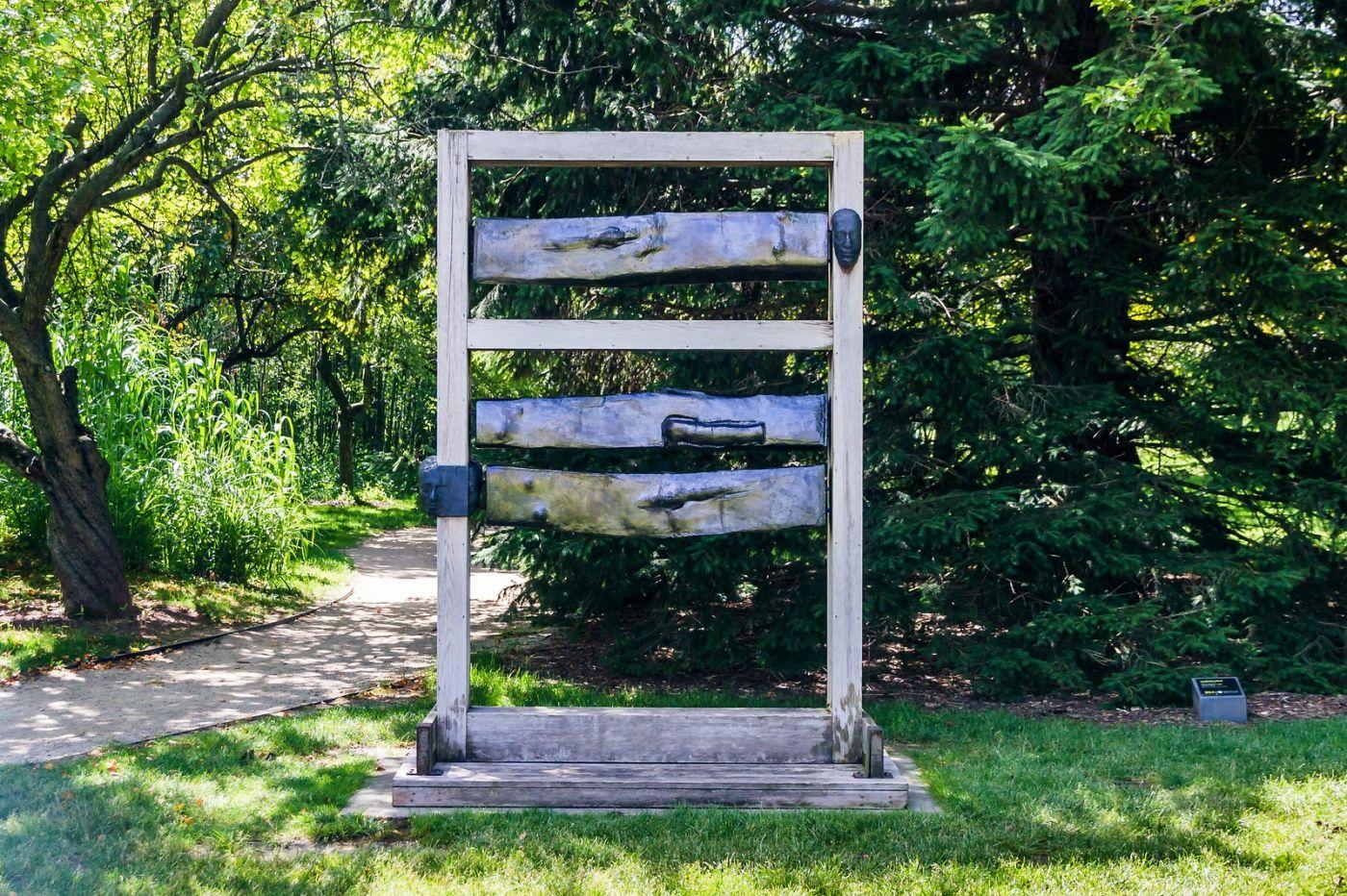 新泽西州雕塑公园(Grounds for scuplture),题材很广_图1-7