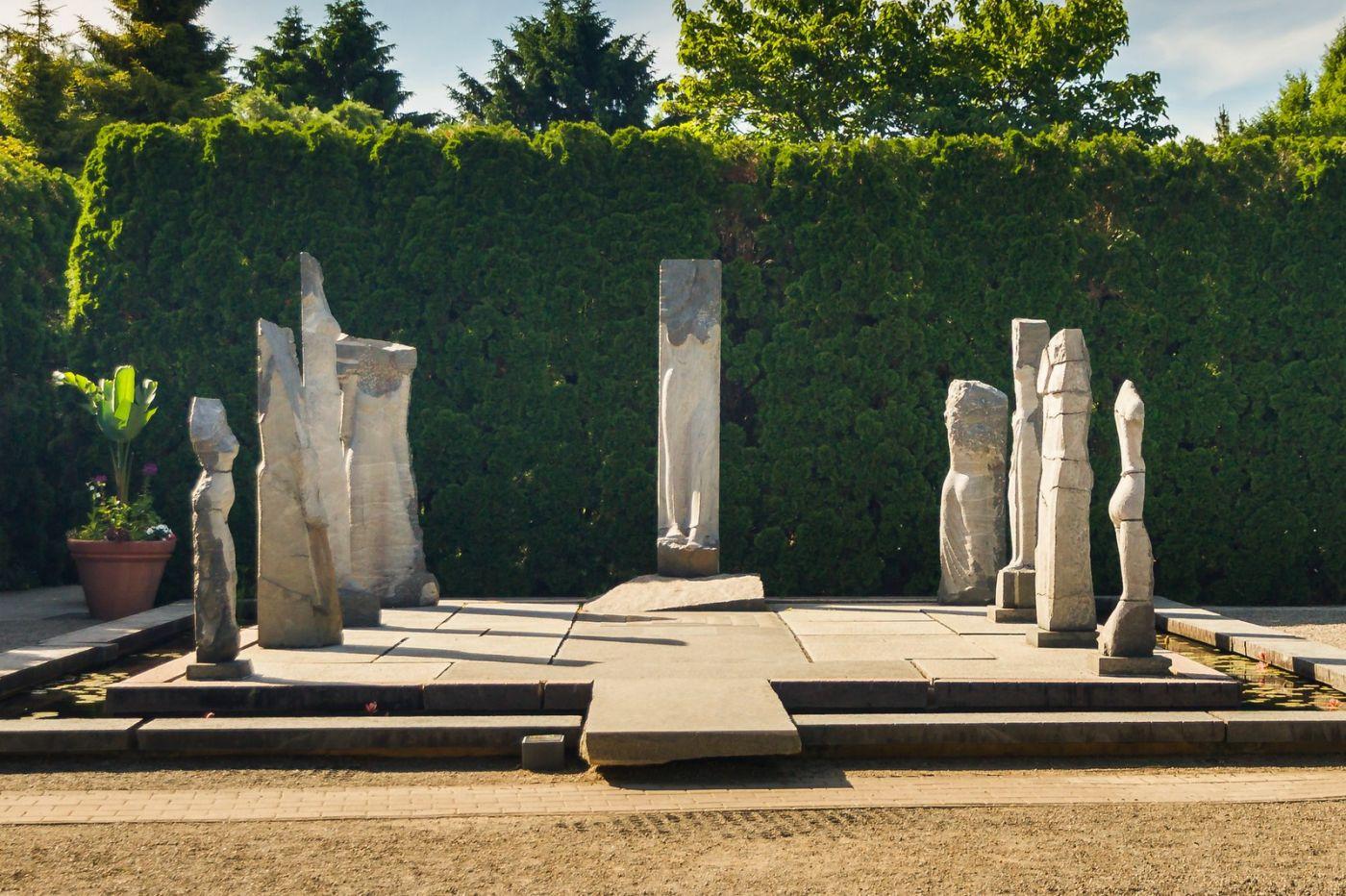 新澤西州雕塑公園(Grounds for scuplture),題材很廣_圖1-6