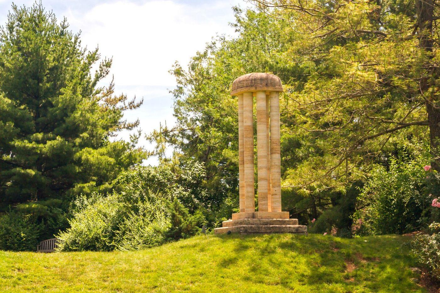 新澤西州雕塑公園(Grounds for scuplture),題材很廣_圖1-8