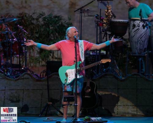 高娓娓︰活力四射的美國搖滾大爺——老牌傳奇歌星JimmyBuffett演唱會 ..._圖1-5