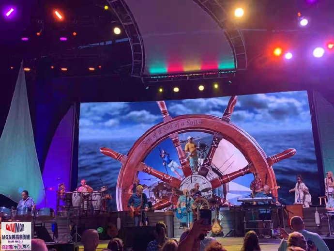 高娓娓︰活力四射的美國搖滾大爺——老牌傳奇歌星JimmyBuffett演唱會 ..._圖1-8