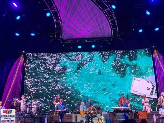 高娓娓︰活力四射的美國搖滾大爺——老牌傳奇歌星JimmyBuffett演唱會 ..._圖1-11
