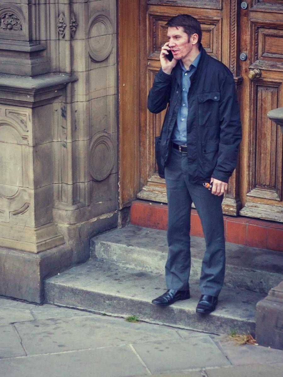 苏格兰爱丁堡,街上行人_图1-40