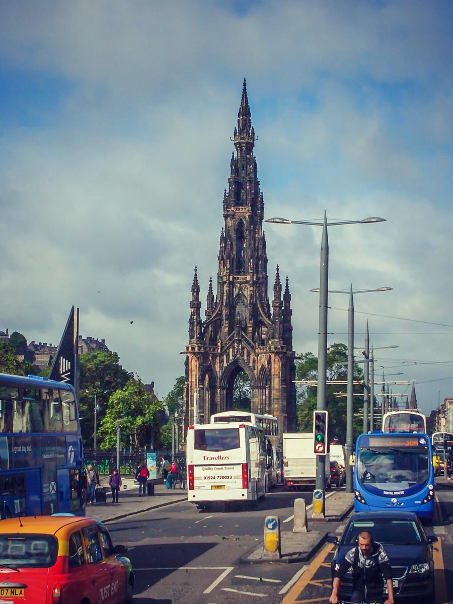 苏格兰爱丁堡,街上行人_图1-37