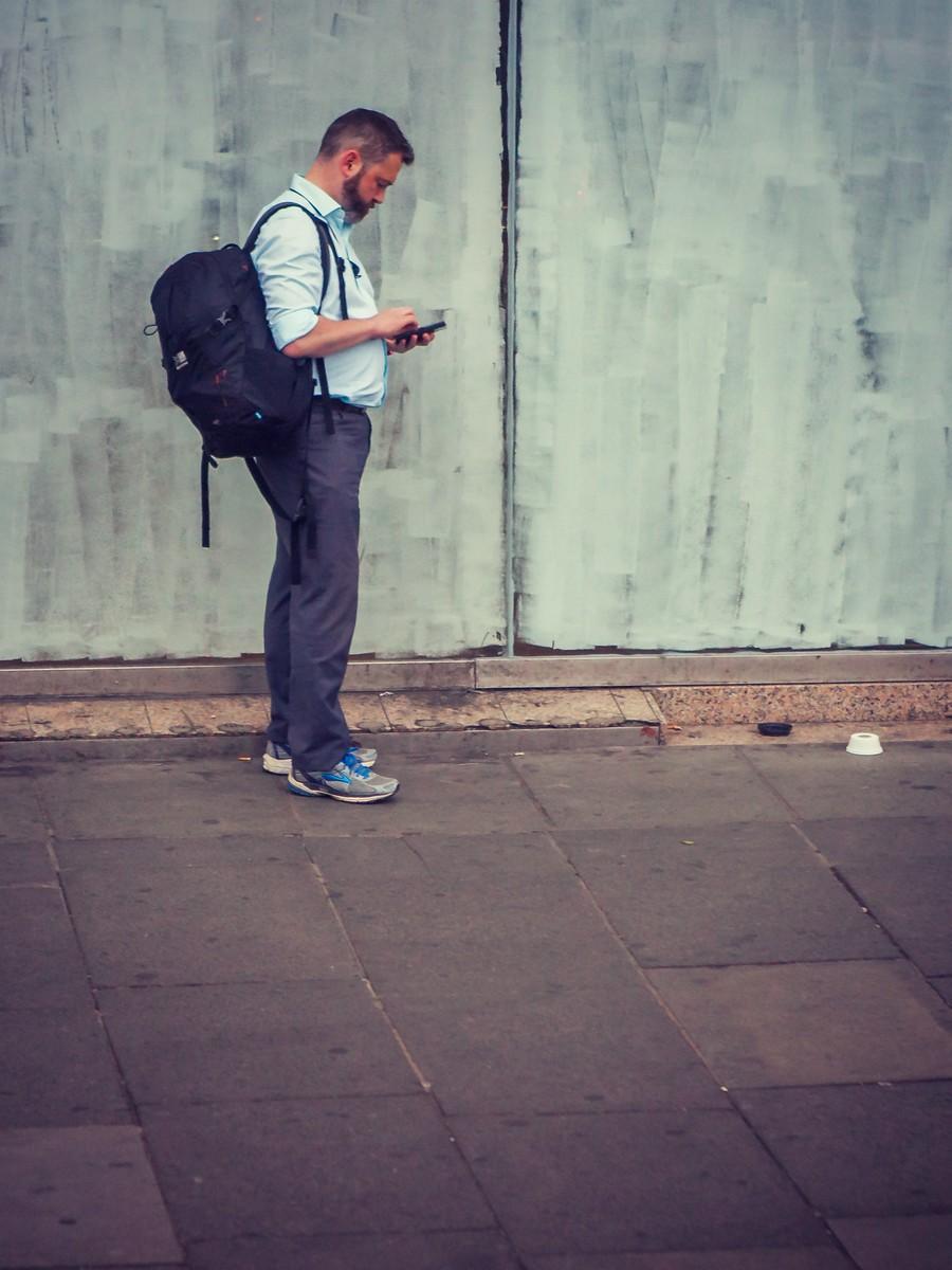 苏格兰爱丁堡,街上行人_图1-32