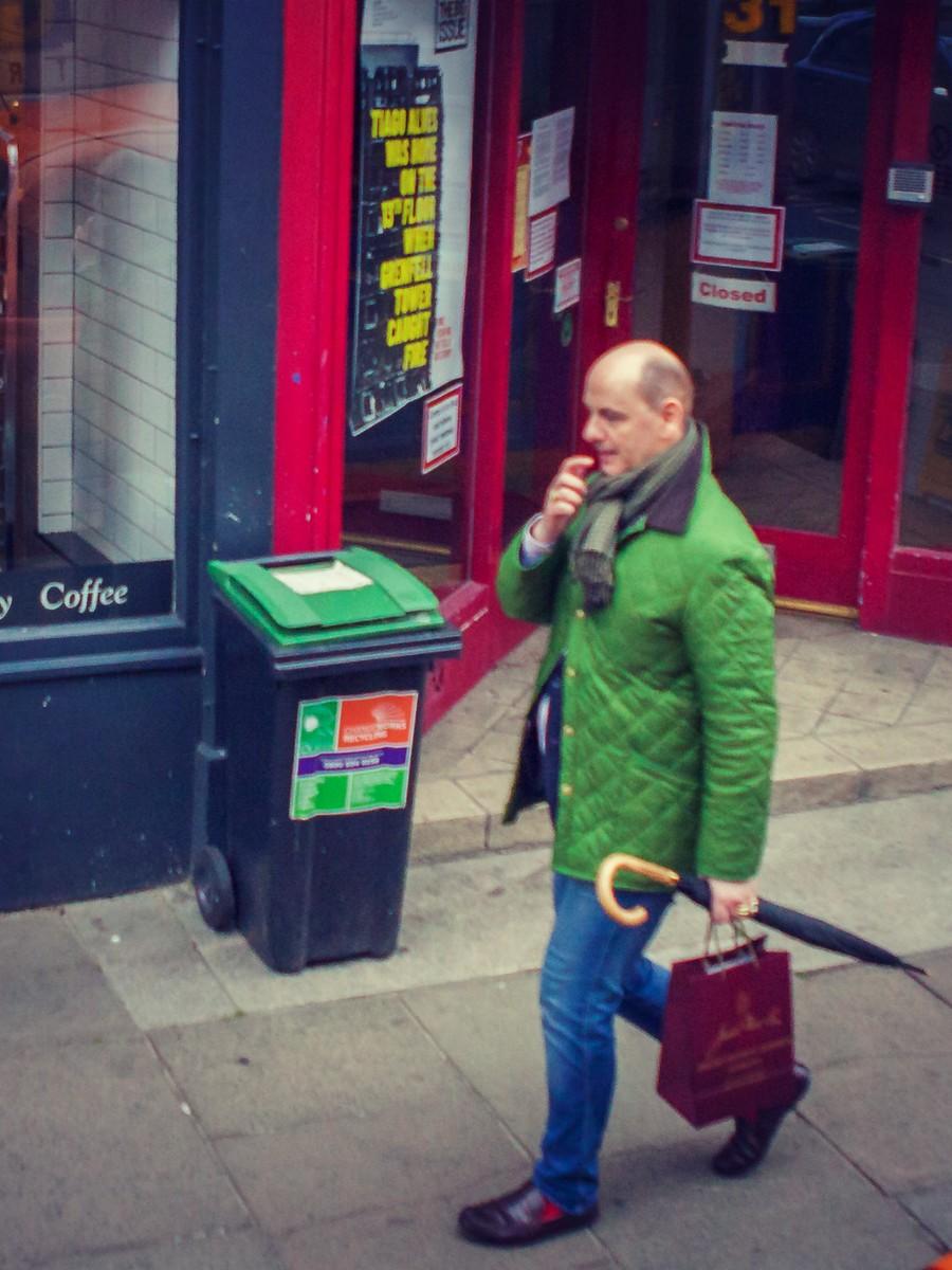 苏格兰爱丁堡,街上行人_图1-25