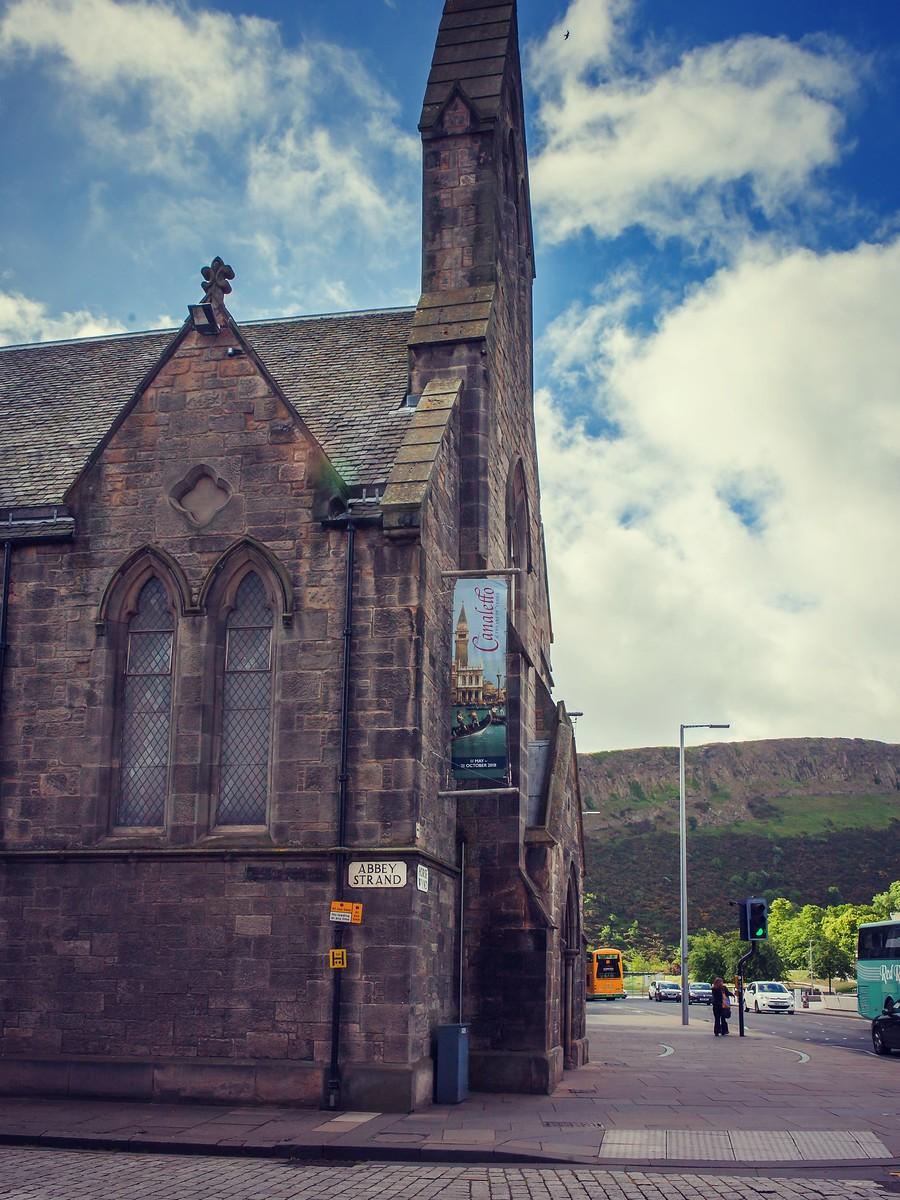 苏格兰爱丁堡,街上行人_图1-14