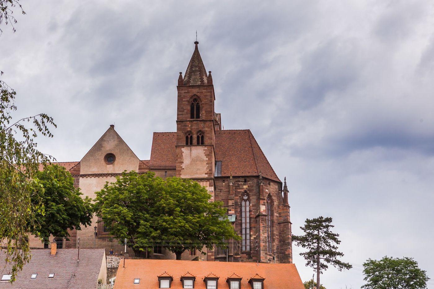 德国布赖萨赫(Breisach),城小历史久_图1-30
