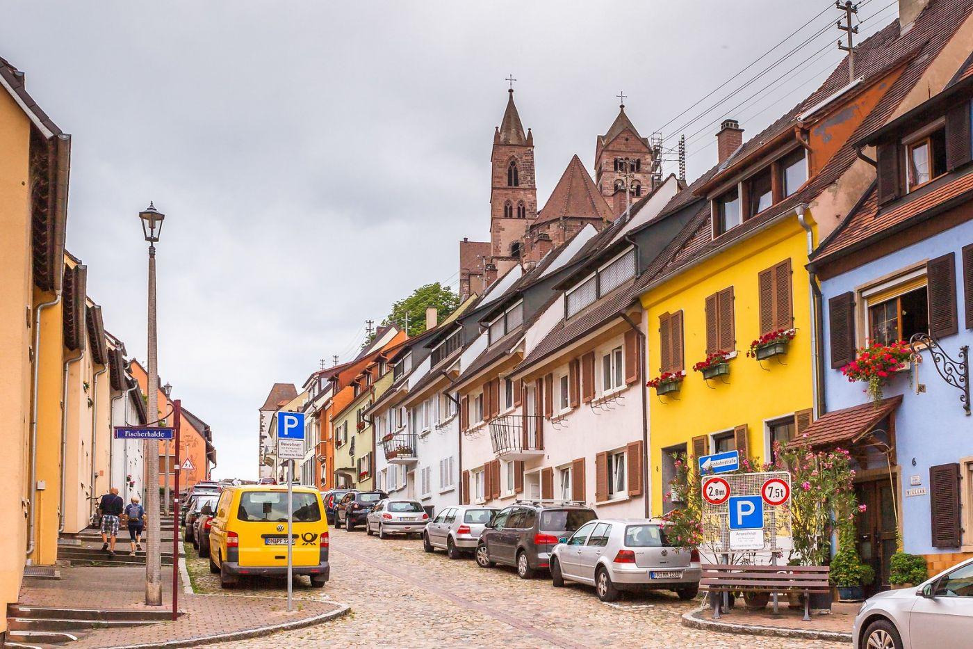 德国布赖萨赫(Breisach),城小历史久_图1-18