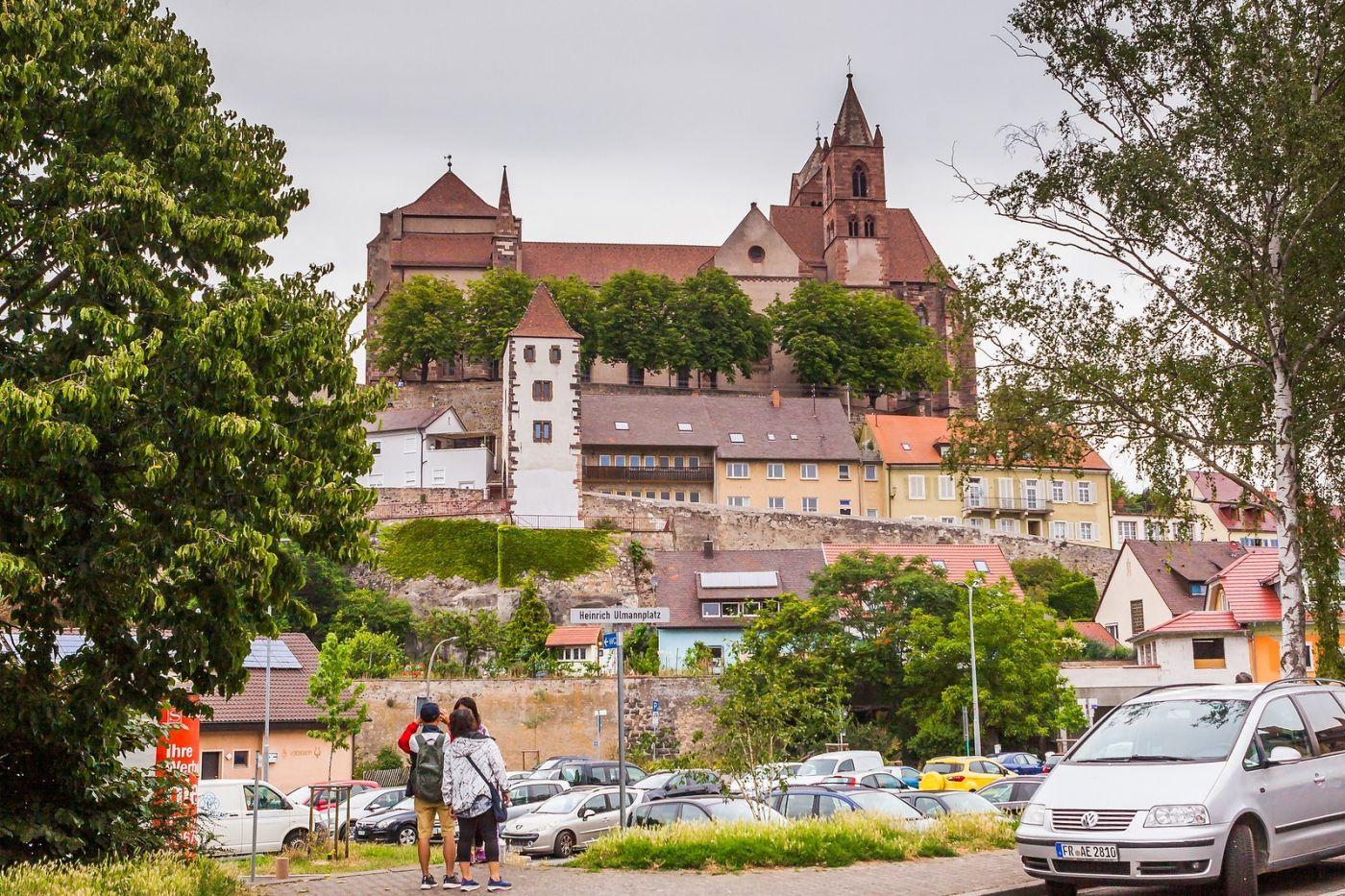 德国布赖萨赫(Breisach),城小历史久_图1-19