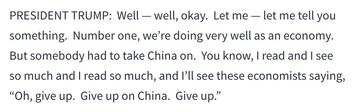 特朗普:终须有人出头解决中国问题_图1-2