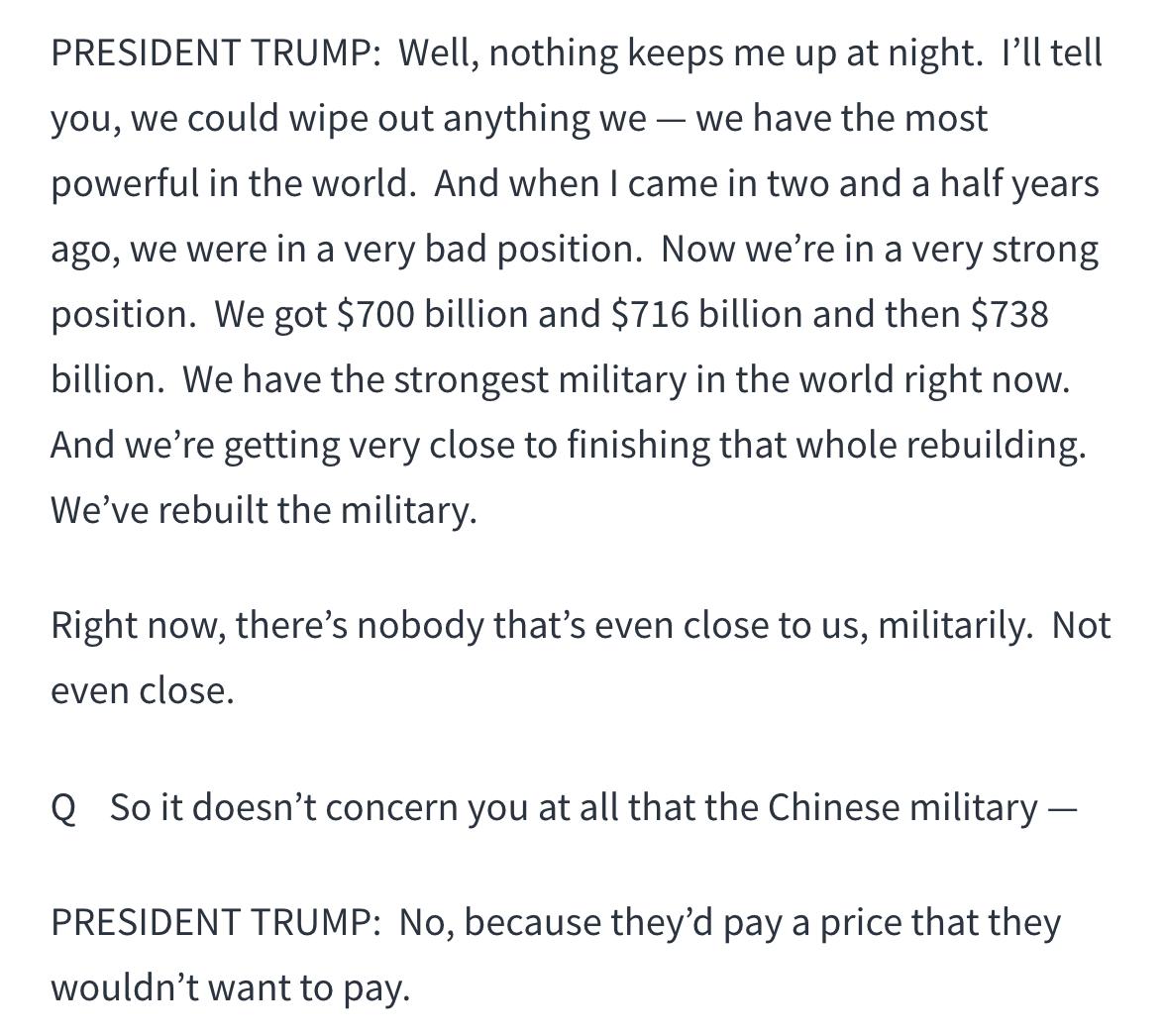 特朗普:终须有人出头解决中国问题_图1-14