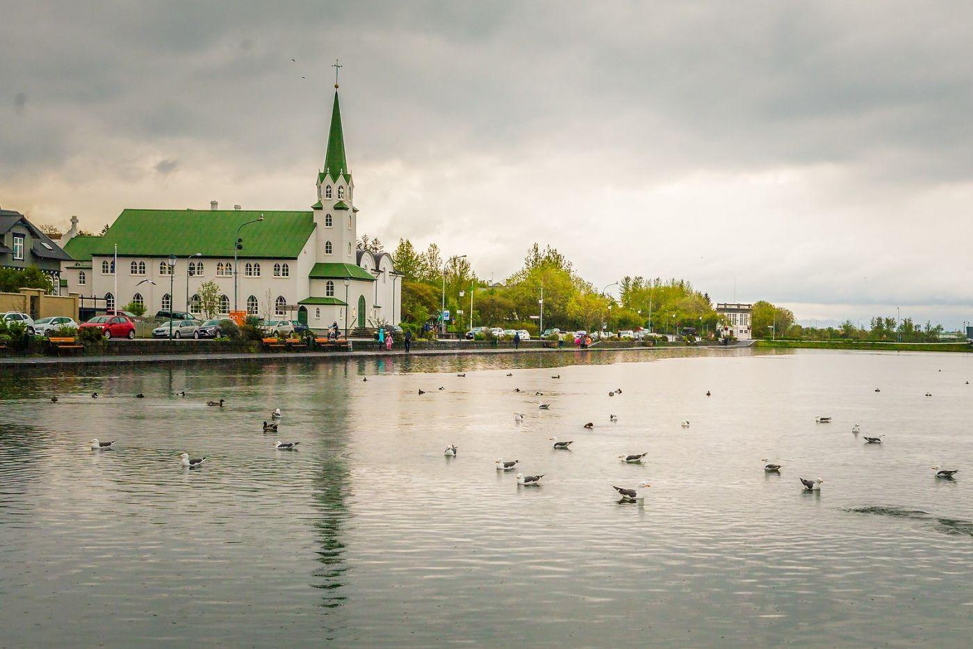冰岛雷克雅未克(Reykjavík),游城中湖_图1-1