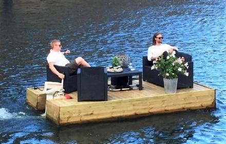 高娓娓:美国人的另类水上生活,吃饭、八卦、派对都在船上 ..._图1-19