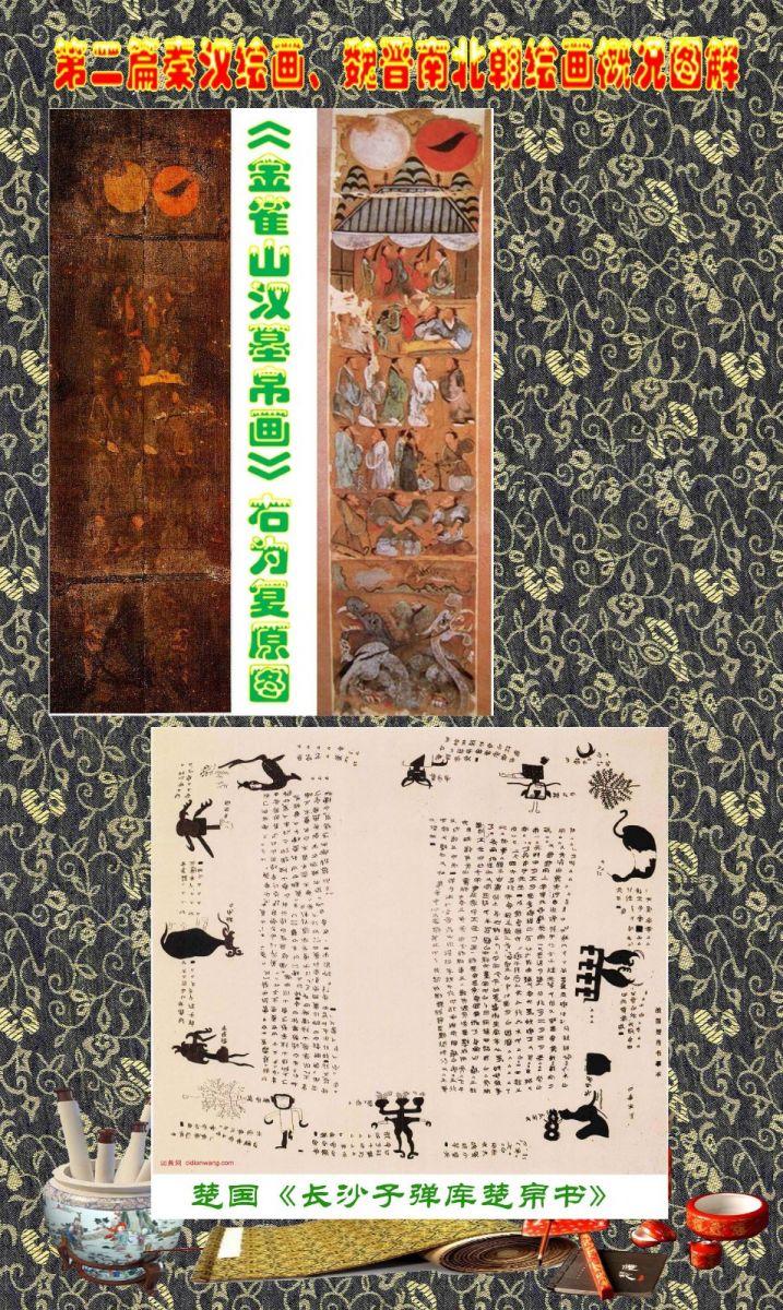 顾绍骅编辑 中国画知识普及版 第二篇秦汉绘画、魏晋南北朝绘画概况 ... ... ..._图1-8
