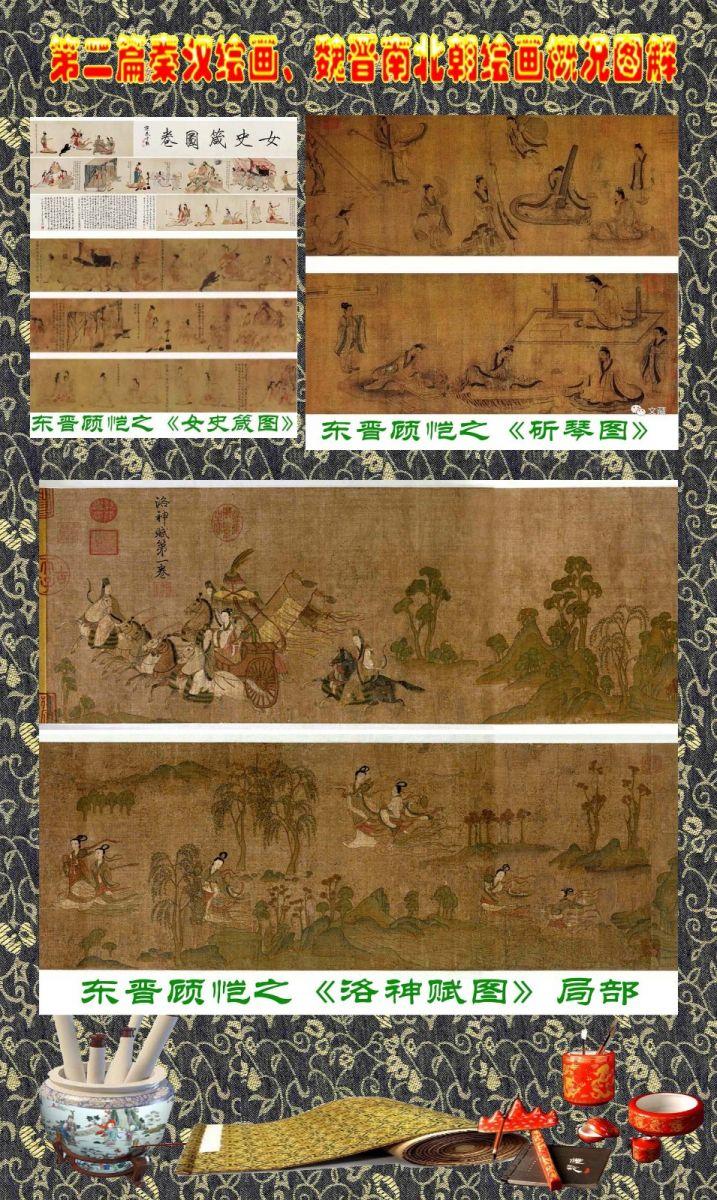 顾绍骅编辑 中国画知识普及版 第二篇秦汉绘画、魏晋南北朝绘画概况 ... ... ..._图1-13