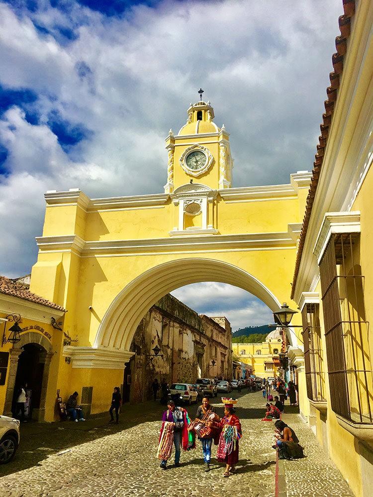 安提瓜----危地马拉的城镇_图1-3