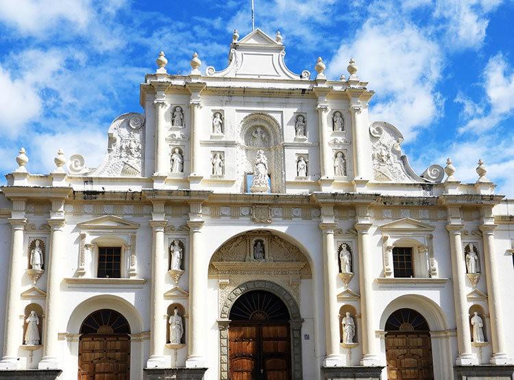 安提瓜----危地马拉的城镇_图1-6