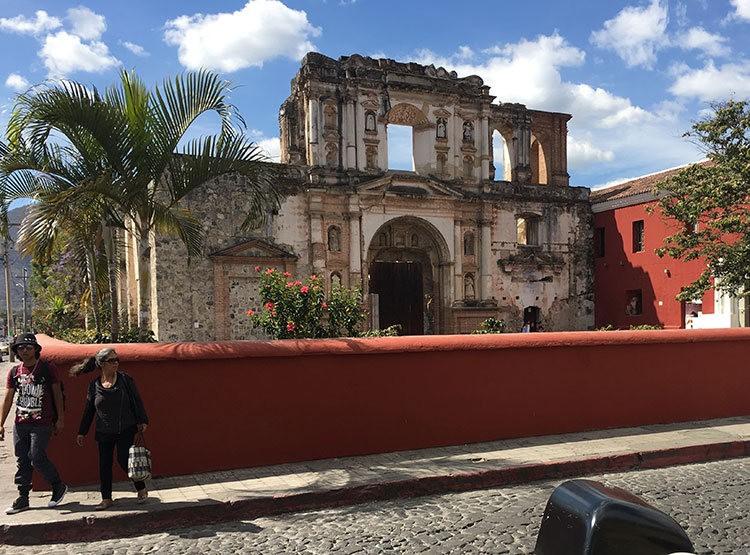 安提瓜----危地马拉的城镇_图1-14