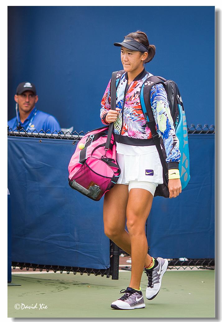 2019美国网球公开赛资格赛中国选手-王曦雨(xiyu wang)_图1-1