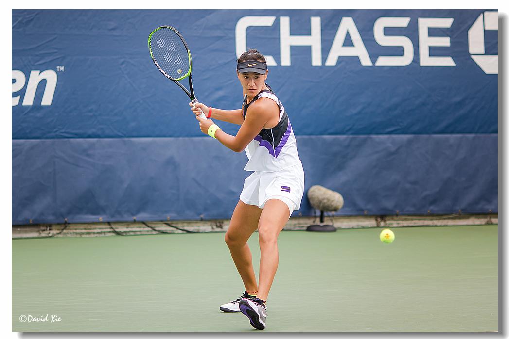 2019美国网球公开赛资格赛中国选手-王曦雨(xiyu wang)_图1-2