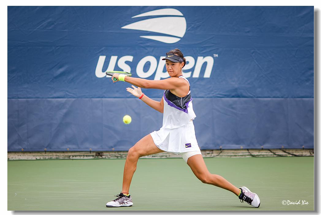 2019美国网球公开赛资格赛中国选手-王曦雨(xiyu wang)_图1-3
